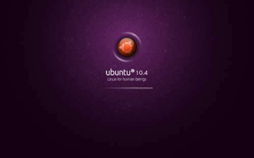 Ubuntu 10.04 Plymouth Splash by Internauta2000